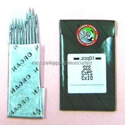 10 29x3 dix3 332 sewing machine needles