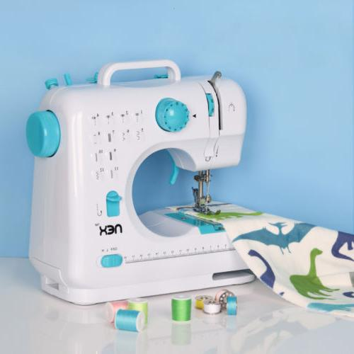 Sewing Machine Blue Suitable for beginners  With 12 Built-In