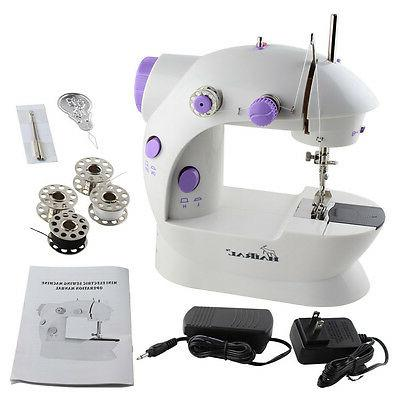 2 speed electric portable mini desktop sewing