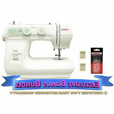2212 sewing machine includes exclusive bonus bundle