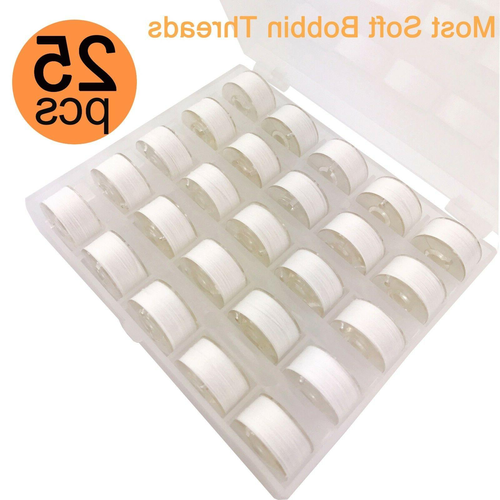 25pcs Bobbin For Embroidery and Machines