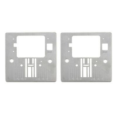 2pc Needle Throat Plate Q60D 4432 Sewing Machine