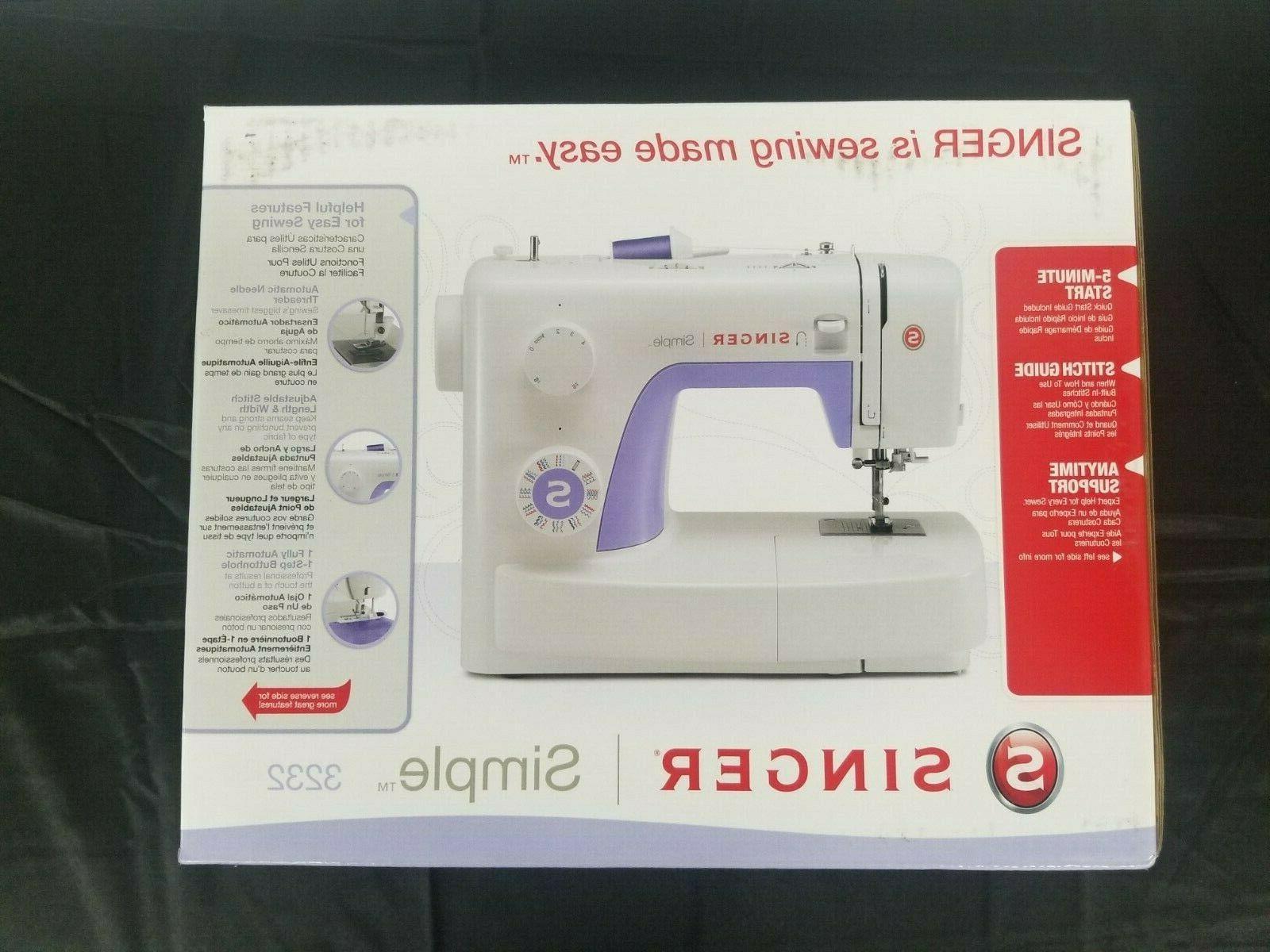 3232 simple sewing mach