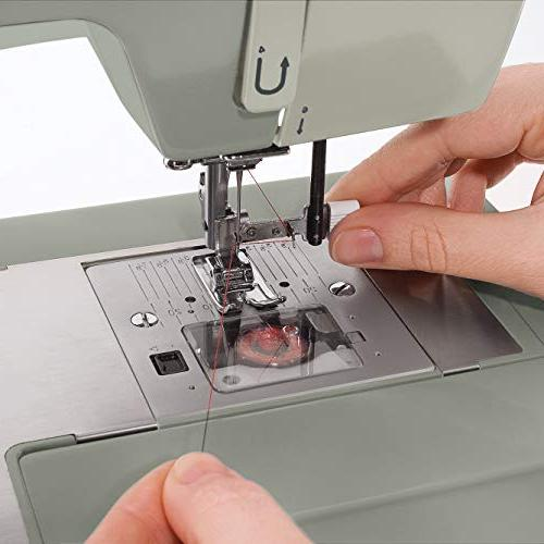 SINGER 4452 Sewing with Accessories, 32 60% Stronger Motor, Stainless Stitching Needle Threader