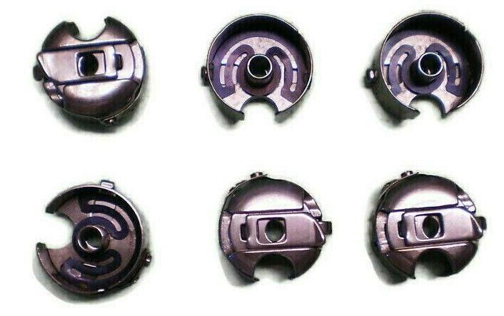 6 PCS. INDUSTRIAL SEWING MACHINE BOBBIN CASE FOR JUKI CONSEW