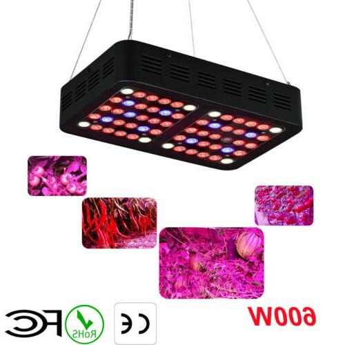 600W Full Spectrum UV IR LED Grow Light for Vegetable Flower