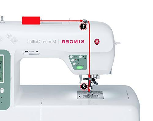 Singer Modern Quilter 8500Q Computerized Portable Sewing and Extension Table, Bonus Screen, Best for Quilting