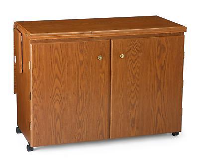 Arrow Cabinet 98700 Bertha Sewing Cabinet, Oak