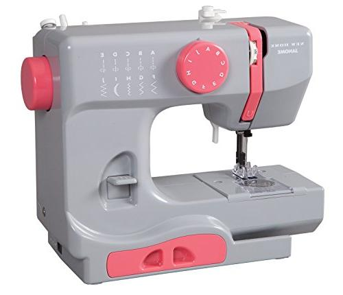 Janome Graceful Gray Basic, Easy-to-Use, 10-Stitch Sewing with Free Arm pounds