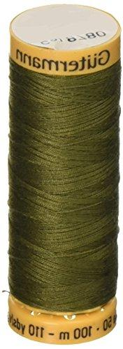 Natural Cotton Thread 110 Yards-Bronze
