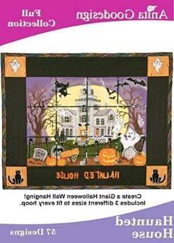 Anita Goodesign Embroidery Designs Cd Haunted House