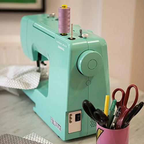 Janome Crystal Sewing Machine with Interior Metal Frame, Bobbin Tutorial Videos,