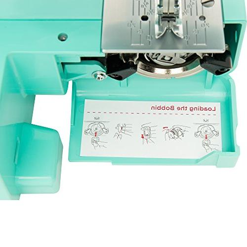 Janome Arctic Crystal Sewing Interior Metal Frame, Tutorial Videos, with Beginners in
