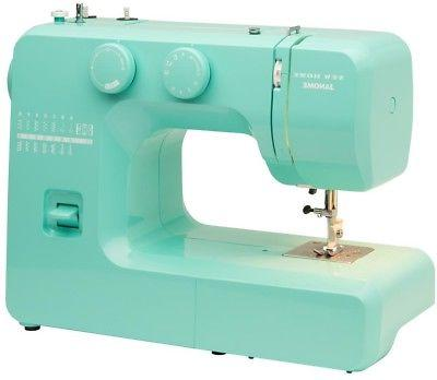 Janome Crystal Easy-to-Use Sewing Machine Metal Bobbin Tutorial Beginners