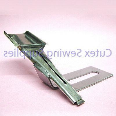 belt loop folder attachment for sewing machines
