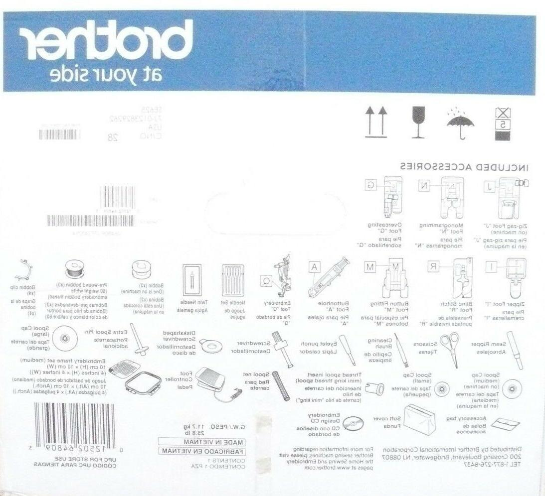Brand New Sealed SE625 Computerized Embroidery
