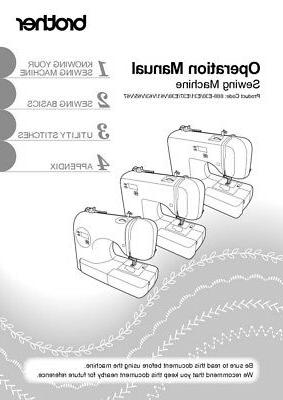 brother sc9500 sewing machine owners instruction reprint