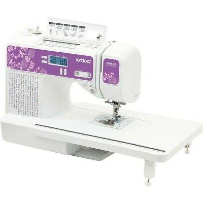 brother sewing 100 built comp sew machine xs2100