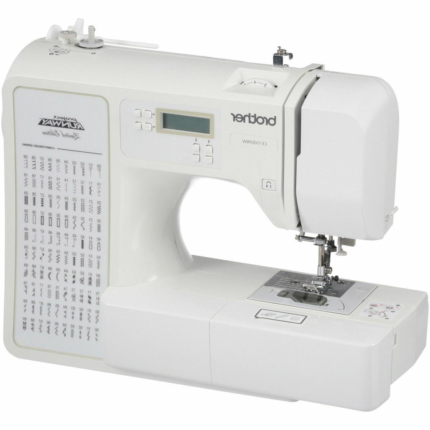 Brother Computerized Sewing Machine 100-Stitch Runway