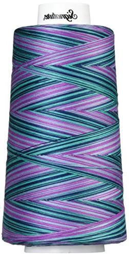 Signature Cotton Quilting Thread, 3000 yd, Variegated Garden