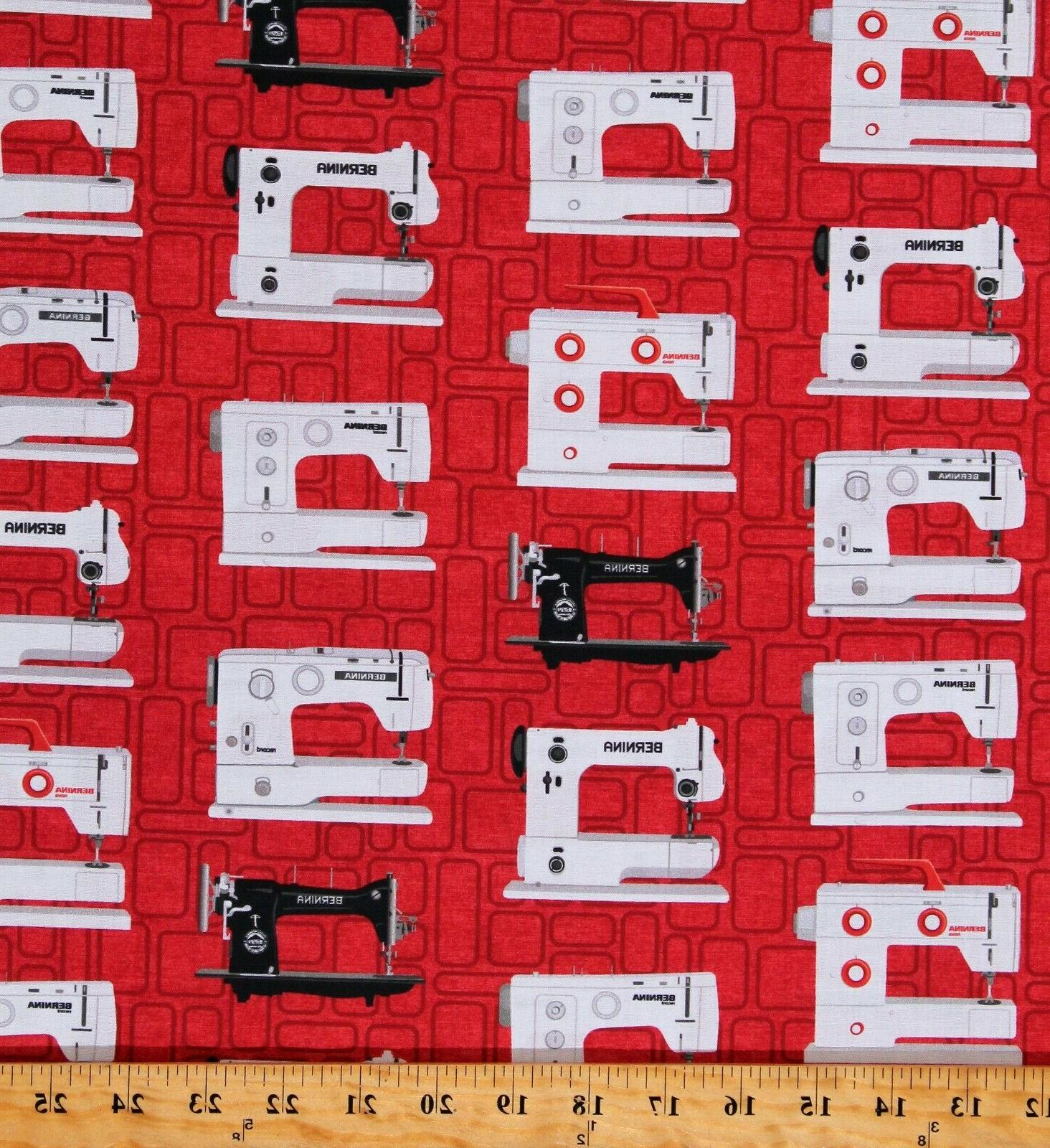 cotton sewing machines vintage sewing bernina red
