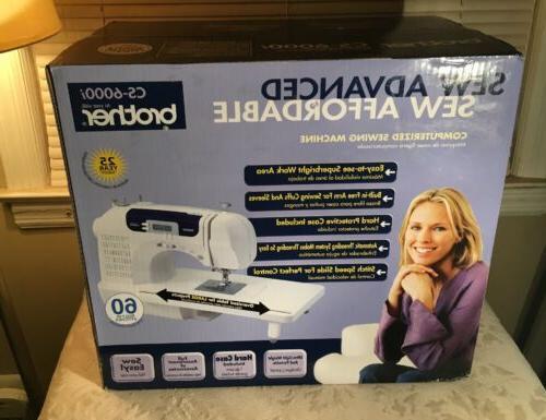 cs 6000i computerized sewing machine brand new