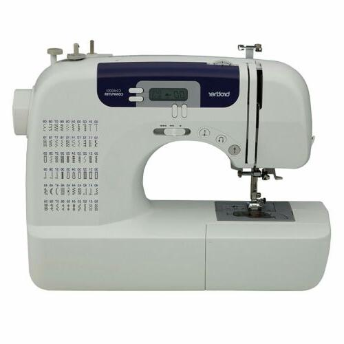 Brother CS-6000i Computerized Sewing Machine clothes jeans b