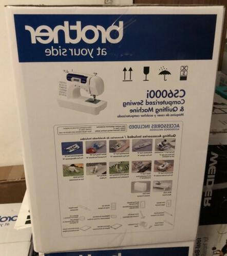Brother CS6000i 60-Stitch Sewing Machine LCD NEW