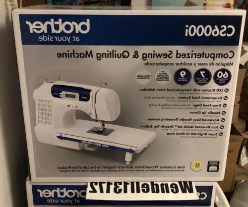 cs6000i 60 stitch computerized sewing machine quilting