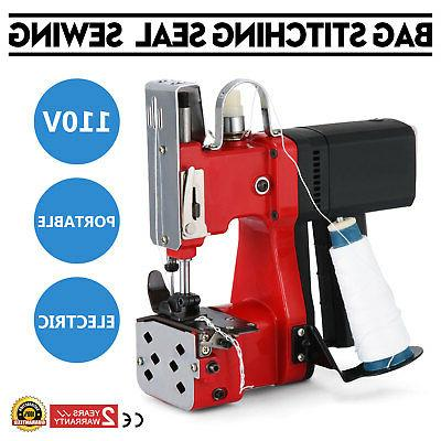Electric Bag Sewing Machine Sealing Machines Portable 110V