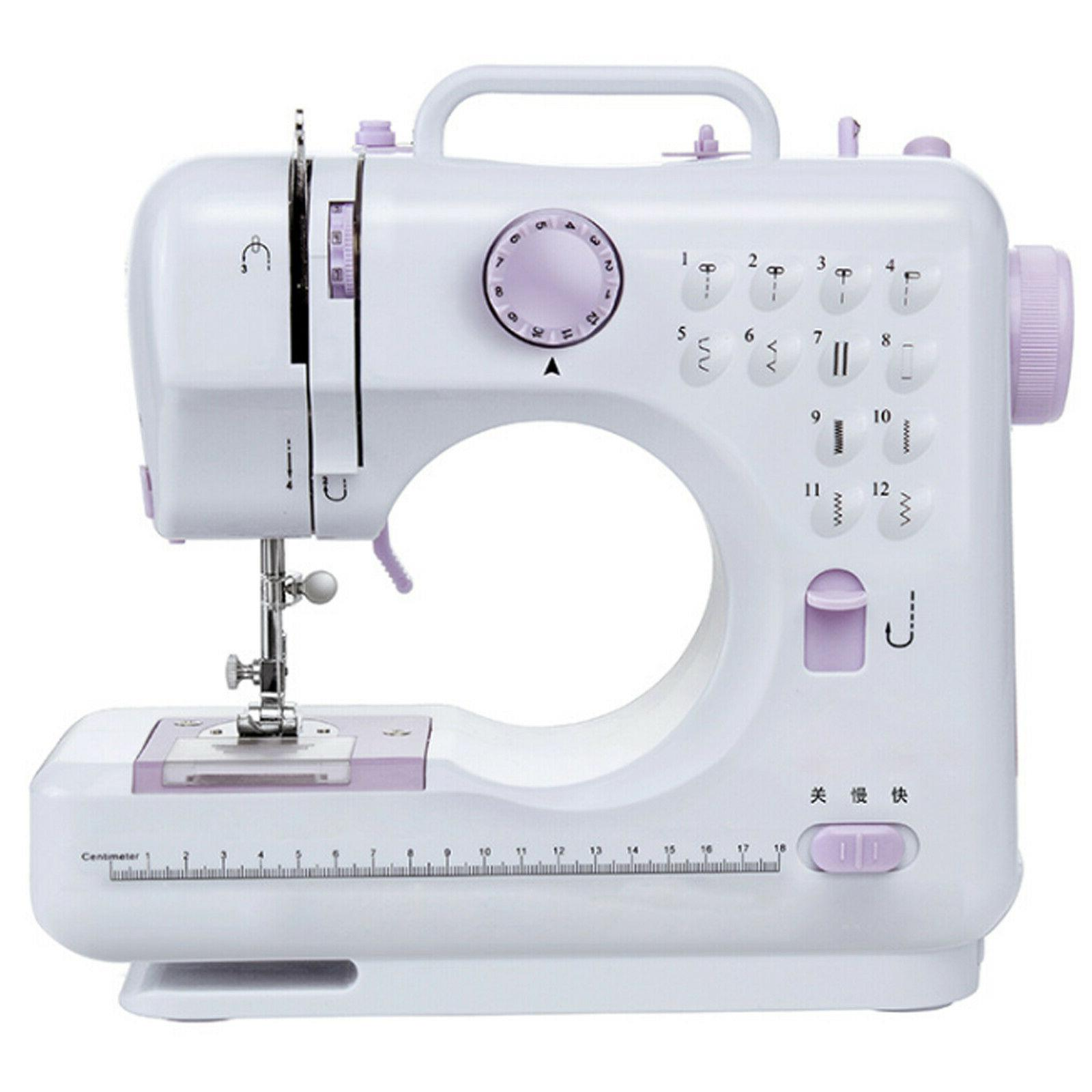 Electric Sewing Machine 12 Stitches Household Tailor 2