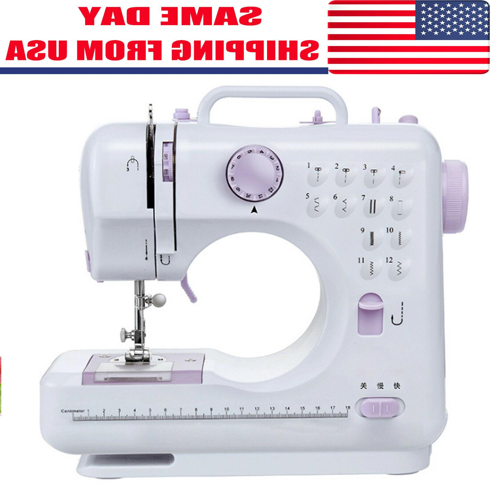 electric desktop sewing machine 12 stitches household
