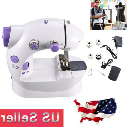 Electric Portable Sewing Machine Desktop Household Tailor 2