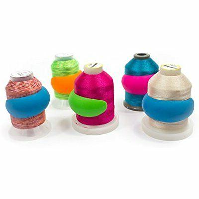 Lot Of 48 Embroidery/Sewing Machine Thread Spools Savers - M