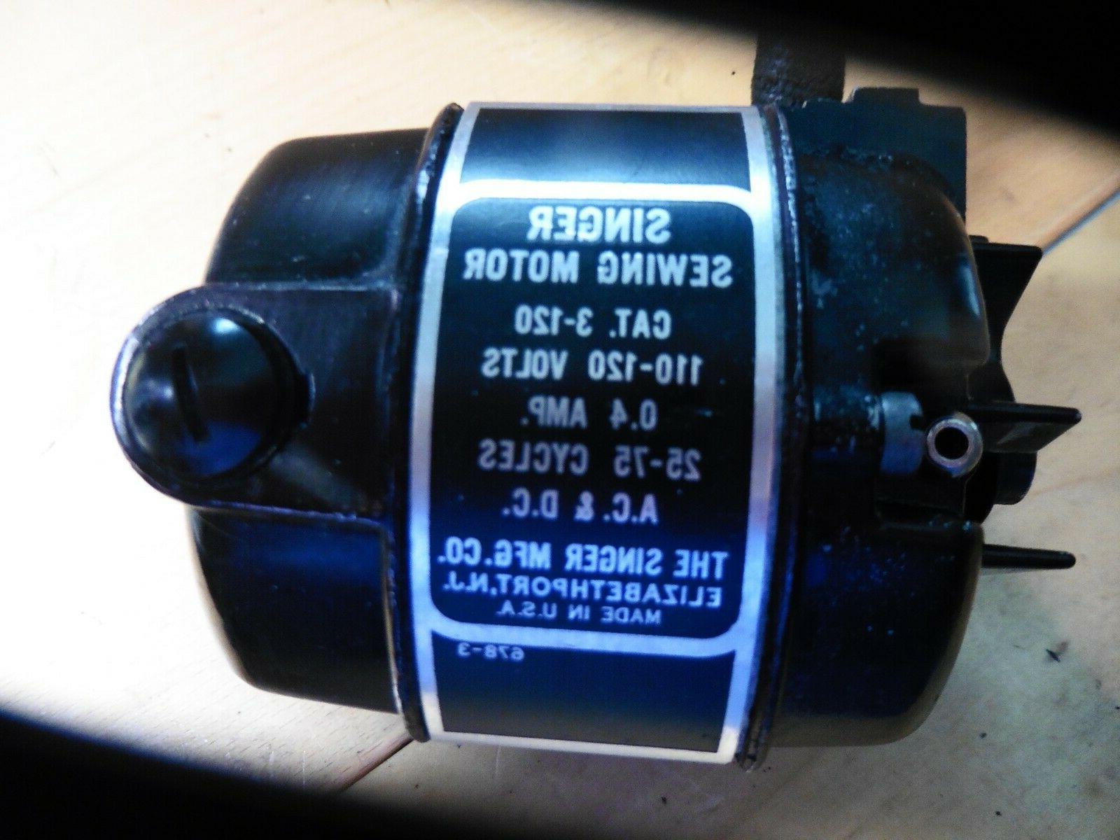 SINGER MACHINE 110-120 Volts