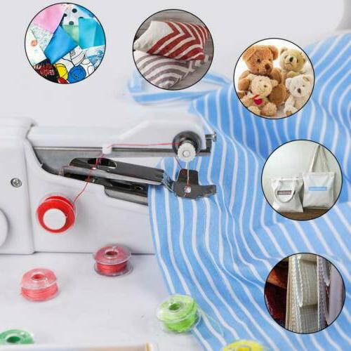 Hand Held Sewing Portable Stitch Sew Quick Handy Cordless