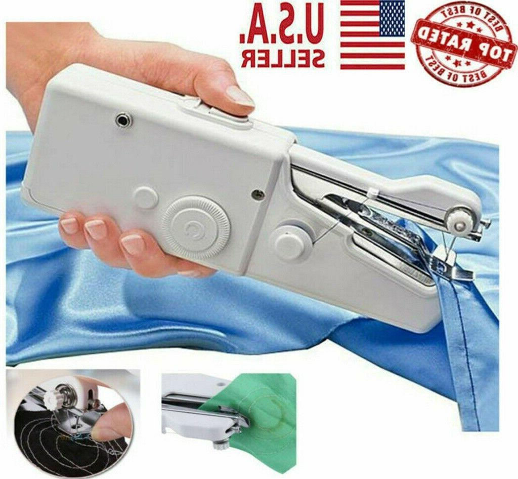 Portable Mini Smart Electric Tailor Stitch Hand-held Sewing