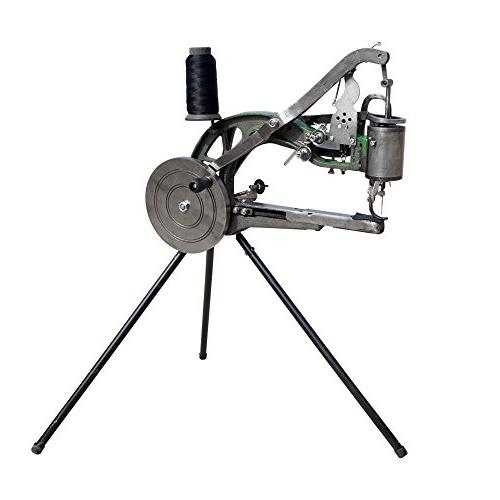 Hand Cobbler Shoe Repair Machine Dual Cotton Nylon Line Leather Sewing Machine