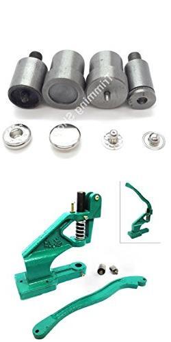 Trimming Shop Hand Press Machine With Spring Tool Die Set Ki