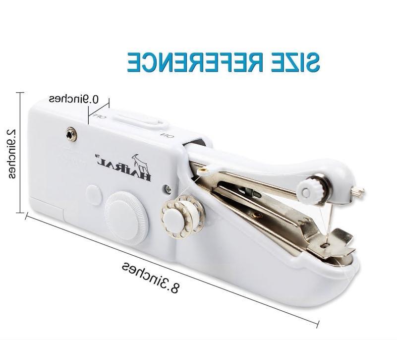 Handheld Sewing Machine Portable Quick Fabric,
