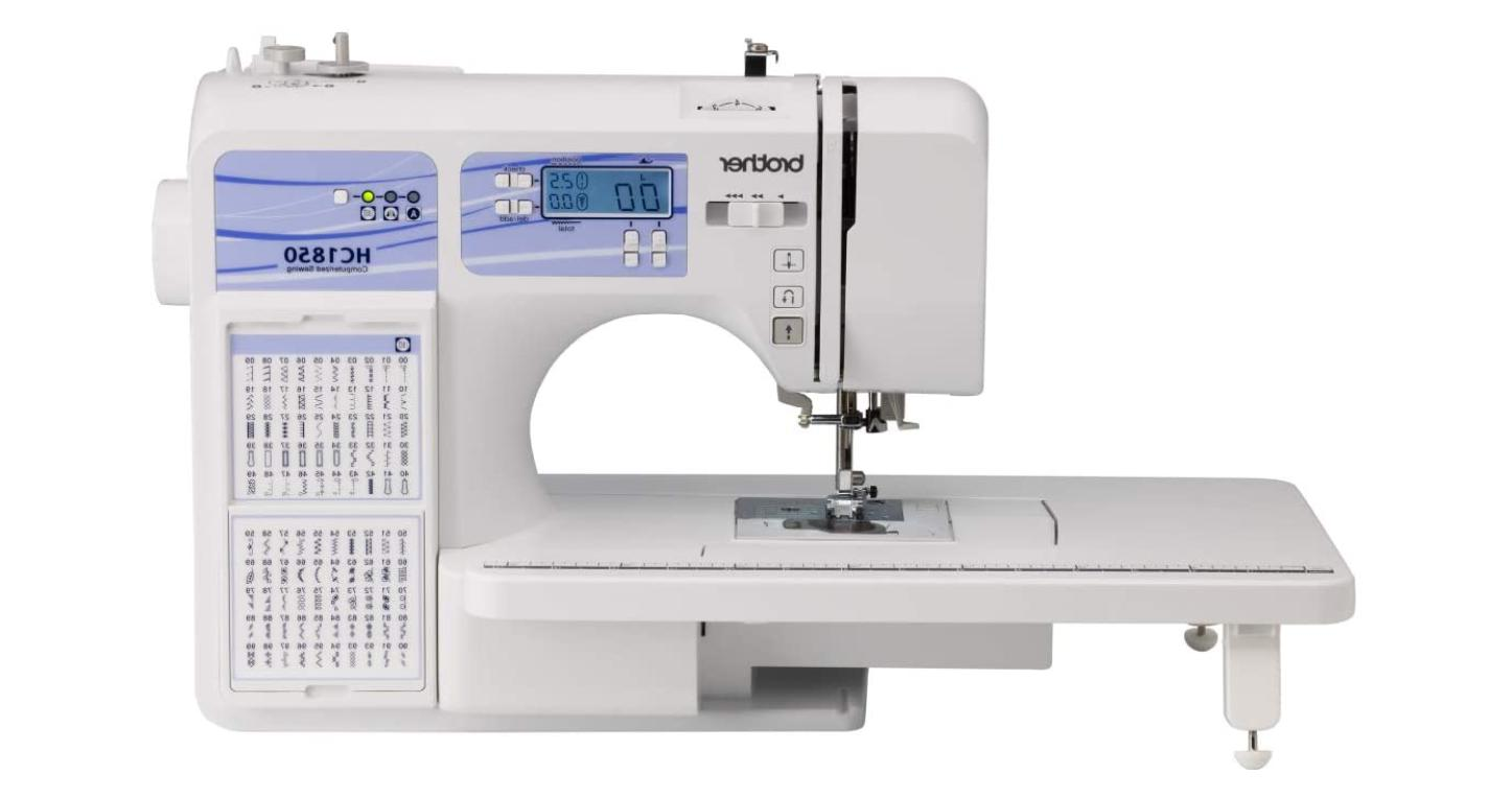 hc1850 sewing and quilting machine 185 built