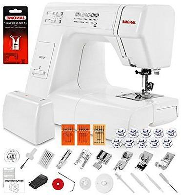 Janome HD3000 Heavy Duty Full Size Sewing Machine + 5 Piece