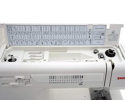 Janome Sewing + Ultra Foot + Blind