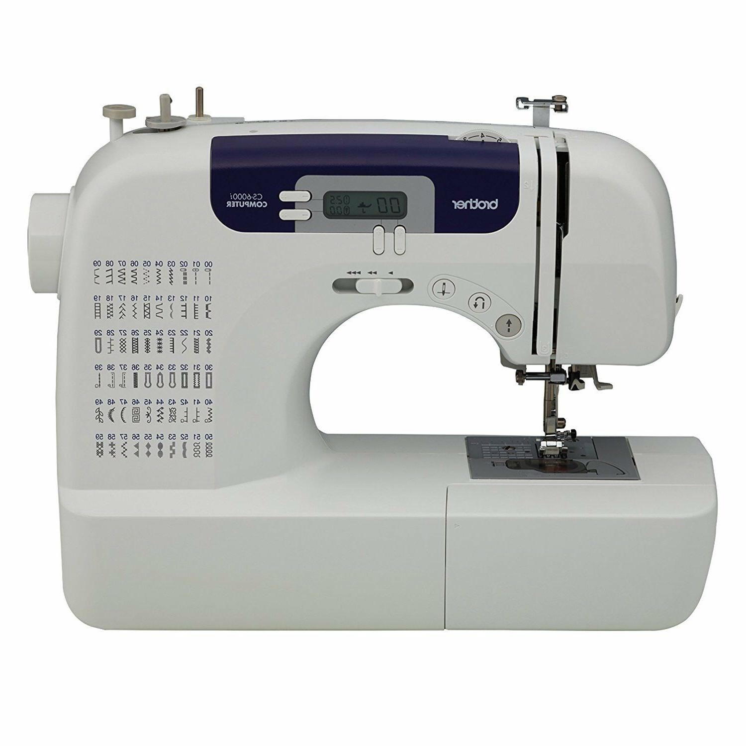 Brother CS6000i Feature-Rich Sewing Machine With 60 Built-In