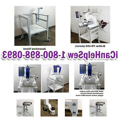hoop tech heavy duty embroidery machine stand