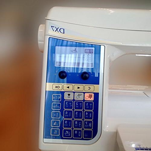 Juki HZL-DX7 Machine w/ Bundle!