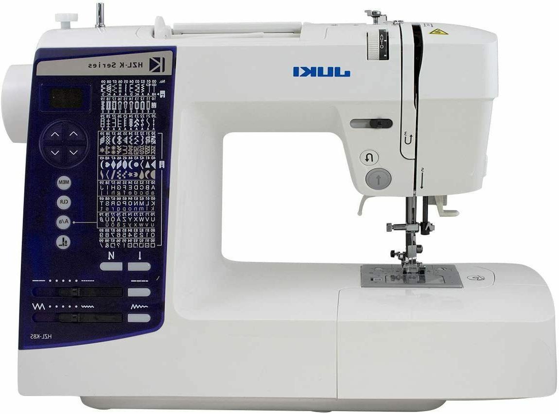 hzl k85 computerized sewing machine free needles