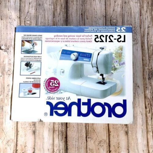 ls 2125 mechanical sewing machine 25 stitch