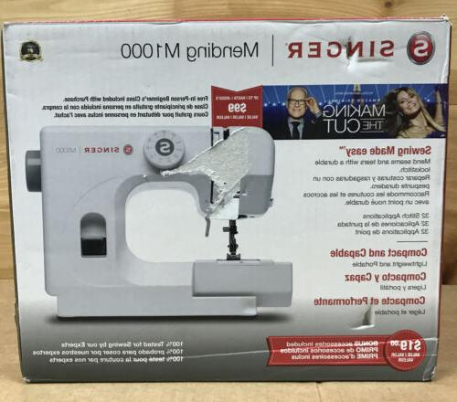 m1000 mend and sew compact sewing machine