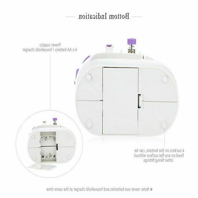 Mini Desktop Sewing Machine 12 Stitches Tailor